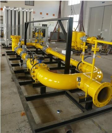 生产线燃气安装